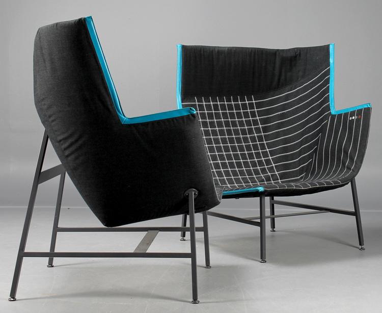 Lounge sessel, Moroso Paper Planes - Nipa Doshi & Jonathan Levien