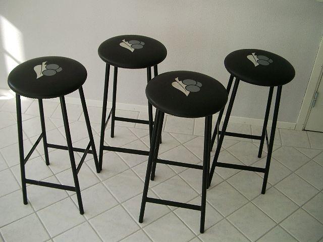 4 x Barhocker, Johanson Design - Sputnik
