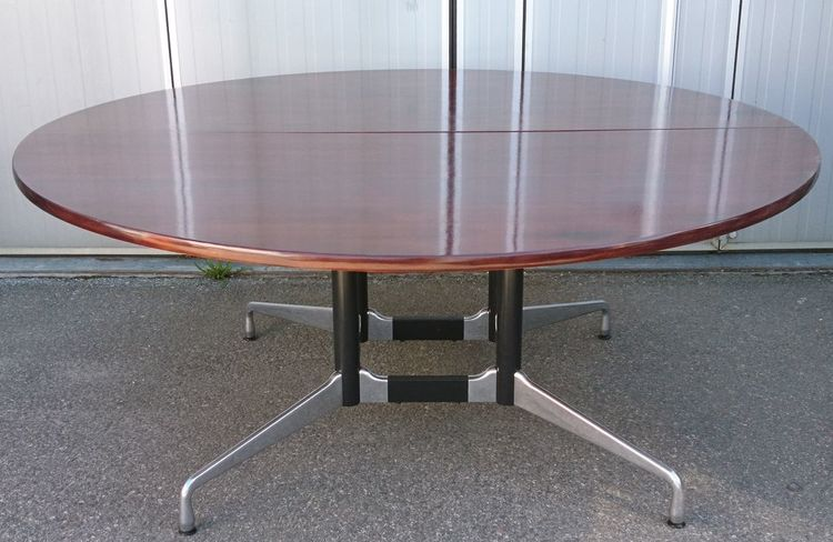 Konferenztisch, Vitra Round Dining Table 180 cm - Charles & Ray Eames