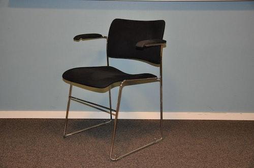 6 x Konferenzstühle, HOWE 40/4 - Alcantara