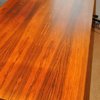 Schreibtisch in Palisander - 220 cm