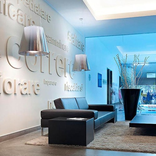 Hängeleuchte, FLOS Ktribe S3   Philippe Starck - Silber