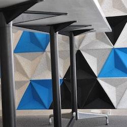 Stehtisch, Vitra Charles & Ray Eames - Tischplatte aus Corian