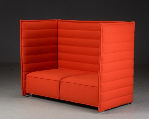 Sofa mit hohem Rücken, Vitra Alcove 2-Sitzer - Design Bouroullec