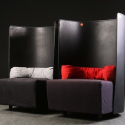Ein par sessel, Zanotta Campo - Design Carlo Colombo