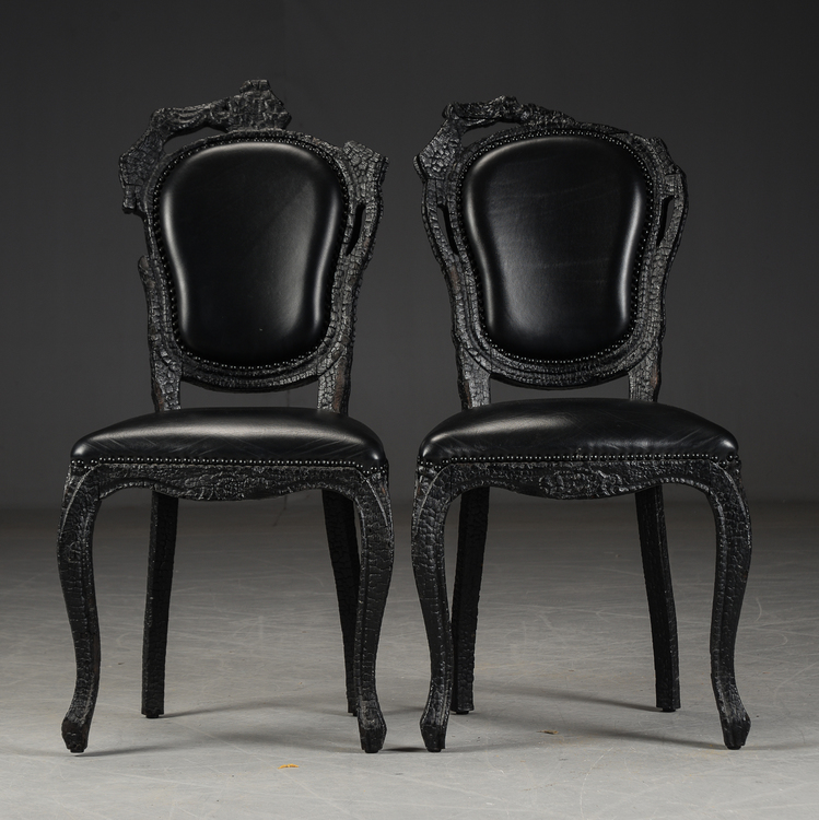 Stühle, Moooi Smoke Chair - Maarten Baas - Ein Paar