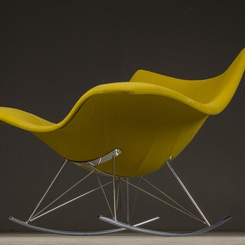 Sessel / Schaukelstuhl, Fredericia Furniture Stingray - Gepolstert