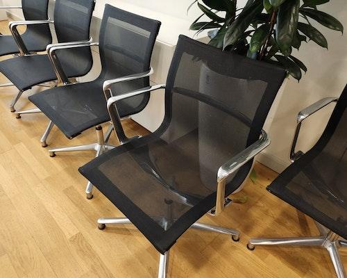 10 x konferenzstühle, ICF Italy Una Chair