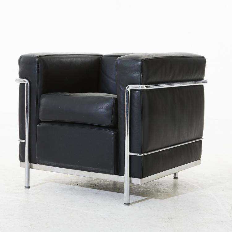 Sessel, Cassina LC2 - Design Le Corbusier