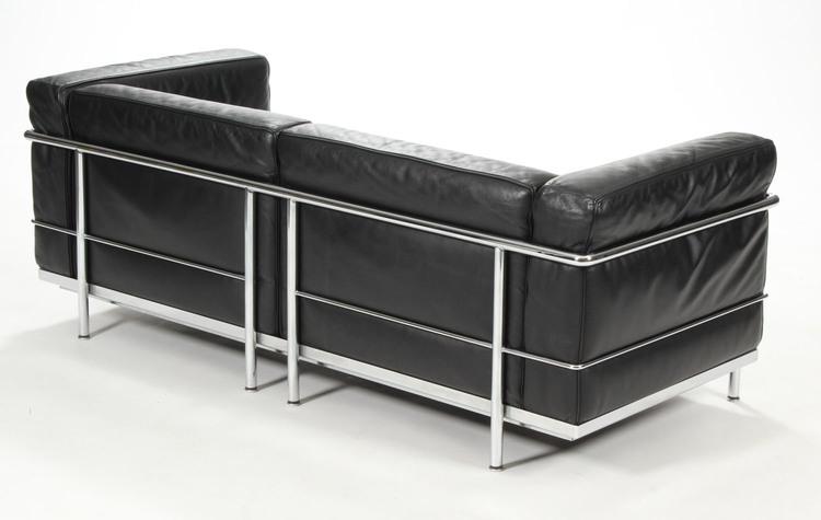 3-Sitzer-Sofa, Cassina LC3 - Design Le Corbusier