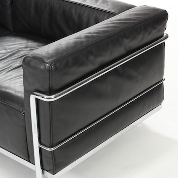 3-Sitzer-Sofa, Cassina LC3 - Design Le Corbusier