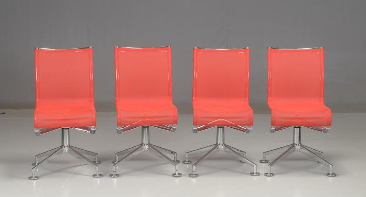 4 x konferenzstühle, Alias Meetingframe 436 - Alberto Meda