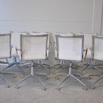 6 x konferenzstühle, Alias Meetingframe 437 - Design Alberto Meda