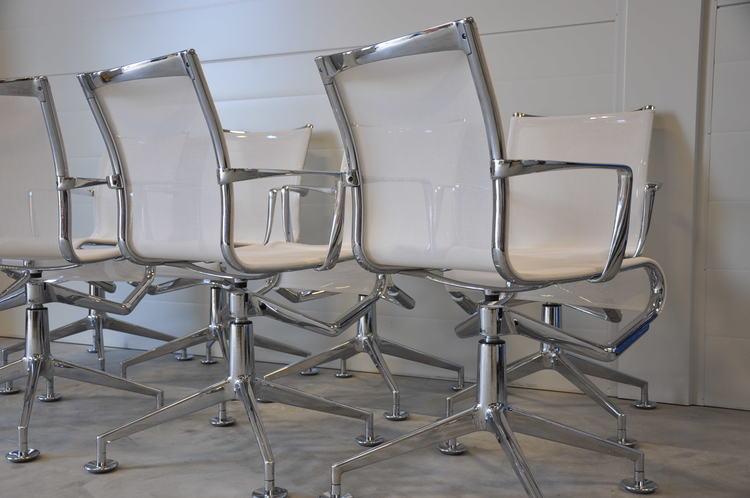 7 x konferenzstühle, Alias Meetingframe 437 - Design Alberto Meda