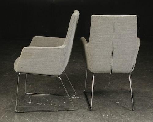 4 x konferenzstühle, Swedese Happy - Design Roger Persson