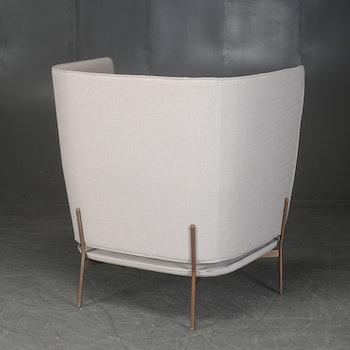 Lounge-Stuhl mit hoher Rückenlehne, AndTradition Cloud LN5 - Design Luca Nichetto