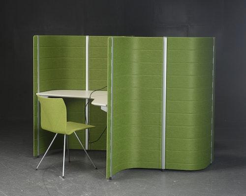 Arbeitsbereich anzeigen, Vitra Workbays Focus - Platz für 2 Personen