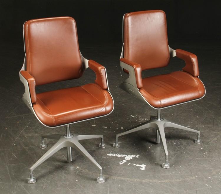 6 x konferenzstühle, Interstuhl Silver 151S - Design Hadi Teherani