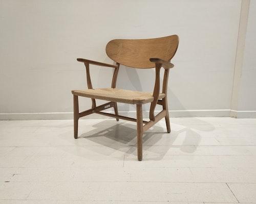 Sessel, Carl Hansen & Son CH22 - Design Hans J Wegner