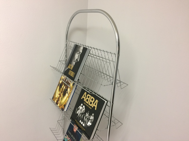 Zeitschriftenständer, Fritz Hansen VP-rack - Verner Panton