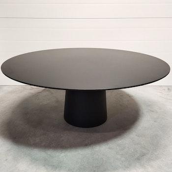 Runder Tisch, Moooi Container Table 180 cm Schwarz - Marcel Wanders