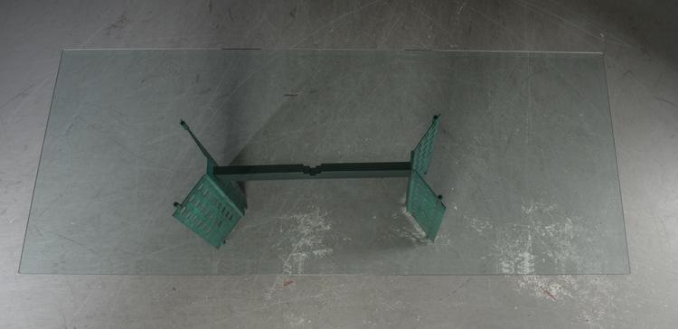 Konferenztisch / Esstisch, Glastisch 240 cm