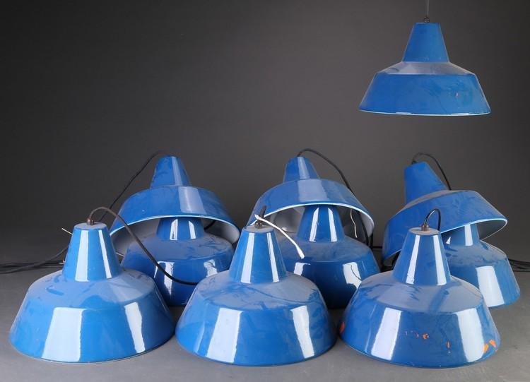 Blau Louis Poulsen Industrielampen - Industriedesign