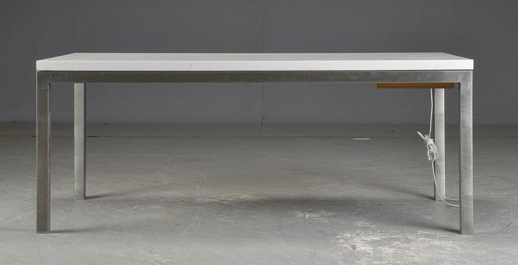 Schreibtisch / Konferenztisch in Corian - Architekt Ole Tang
