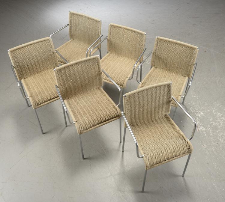 Stühle mit Armlehne, Accademia Agra - Enrico Franzolini
