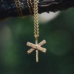 Längtan halsband guld