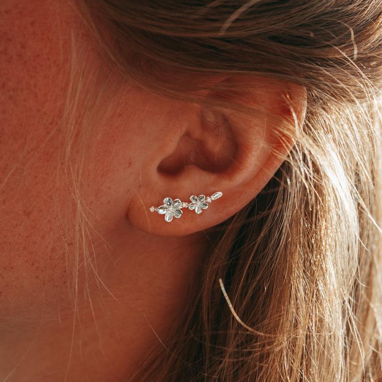 Förgätmigej örhängen