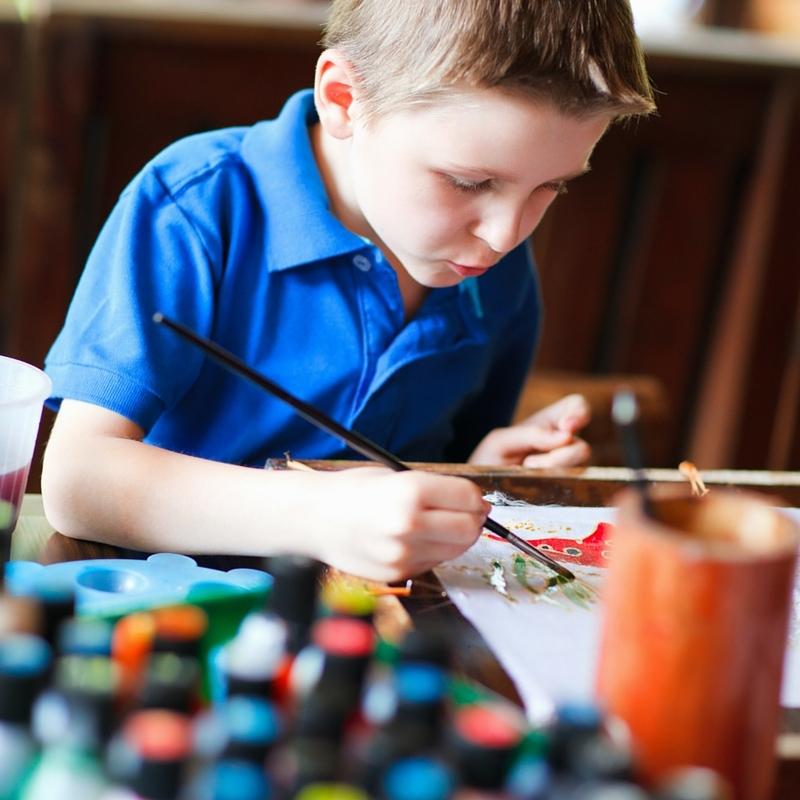 """""""Mamma, vill du måla med mig?"""""""