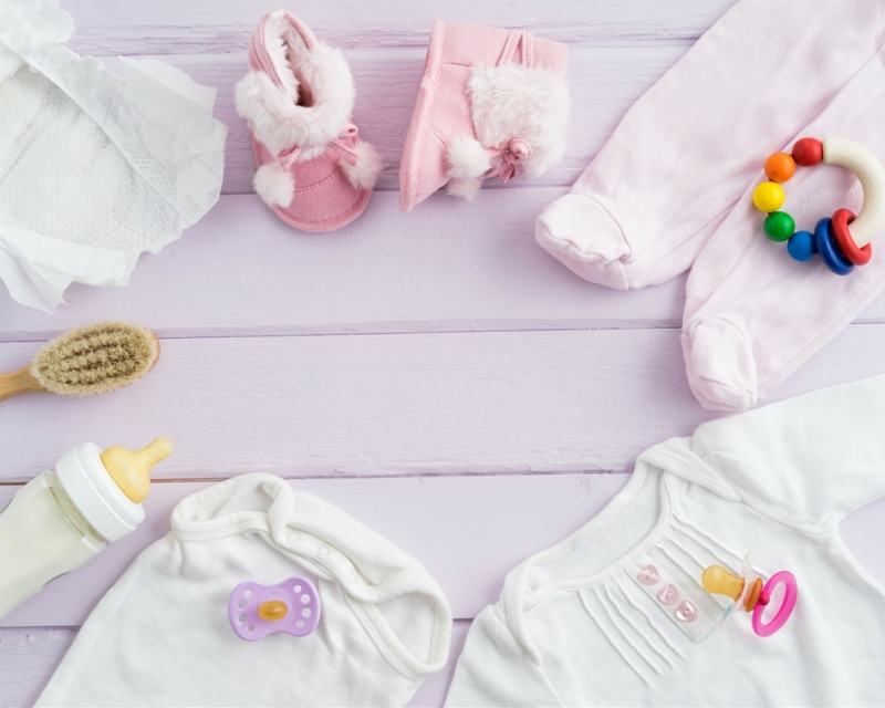 Hur tvätta och ta hand om babykläder?