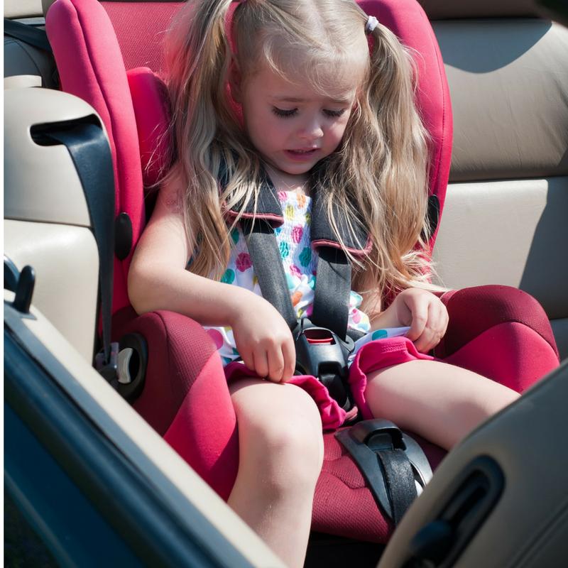 Vad gör man med barn i bilen?