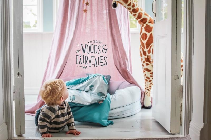 Sänghimmel i barnrummet- En mycket populär trend just nu.