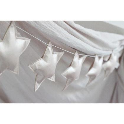 Vimpel vita stjärnor Cotton & Sweets