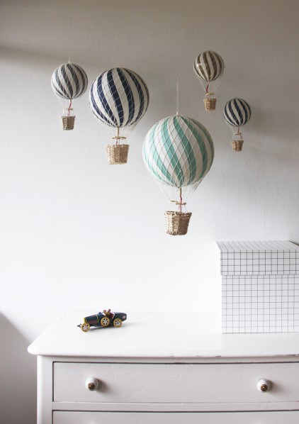 Luftballong Grå, 20 cm, Filibabba