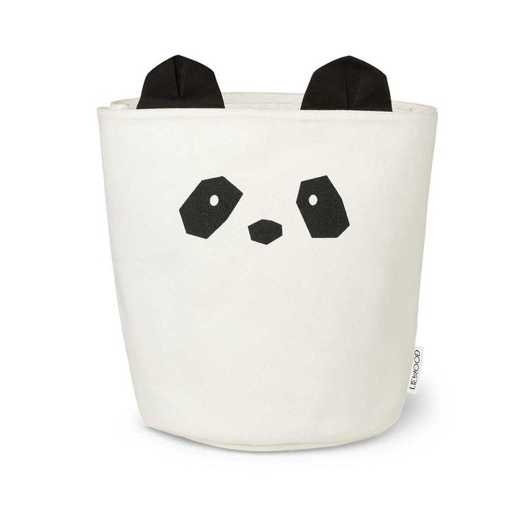 Liewood förvaringskorg Aya Panda Creme De La Creme
