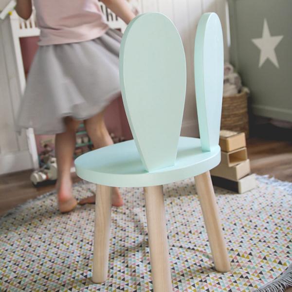 Kaninstol , stol till barnrummet
