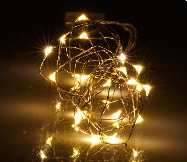Liewood peppermint sänghimmel med ljusslinga