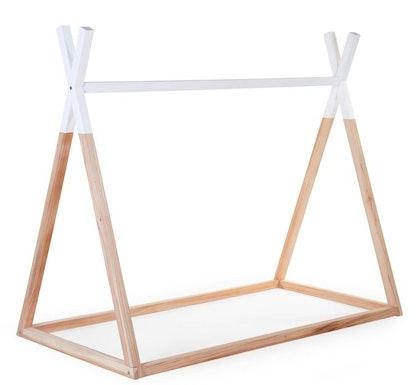 Childhome, tipisäng hussäng 90x200 cm, natural/white