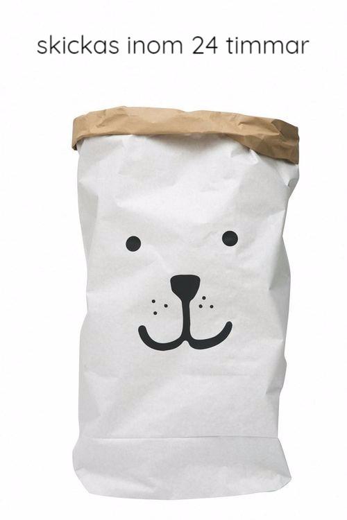 Tellkiddo papperspåse björn Tellkiddo papperspåse björn