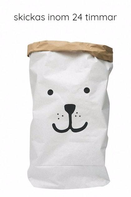 Tellkiddo papperspåse björn