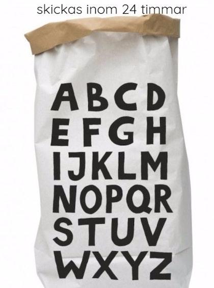 Tellkiddo papperspåse ABC