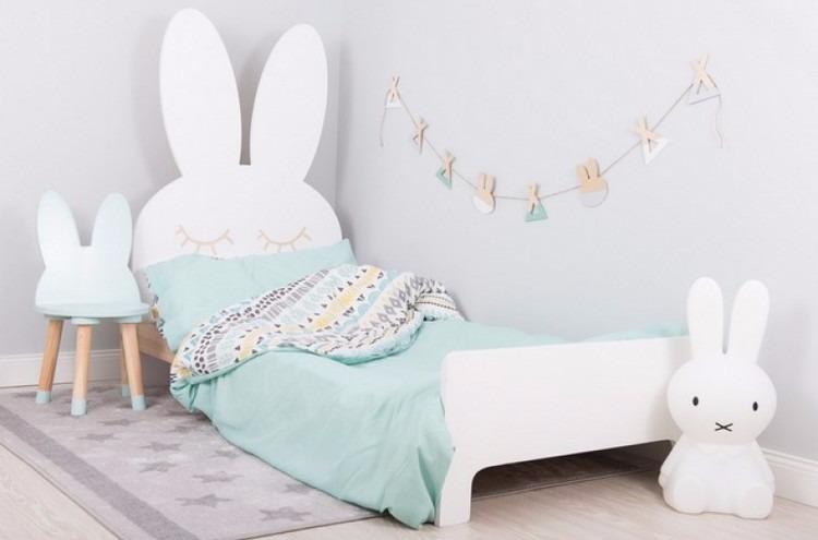 Kaninsäng, Barnsäng 70 x 160 cm Barnsäng kanin