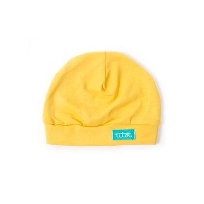 Newborn mössa mustard