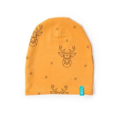 Barnmössa mustard deer