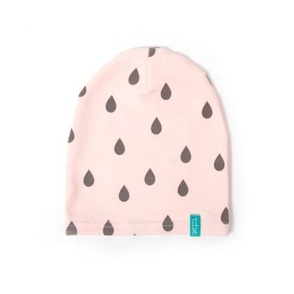Barnmössa pink drops