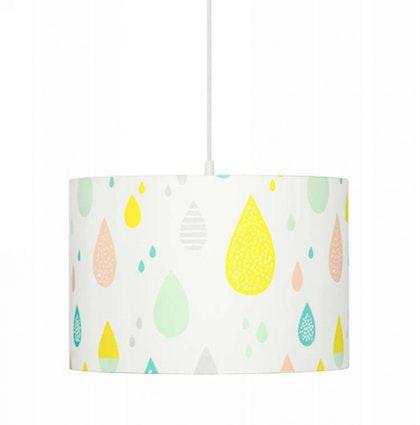 Taklampa pastel raindrops