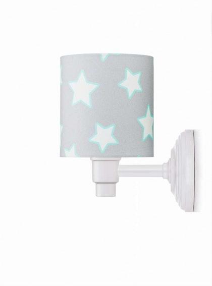 Vägglampa grey stars